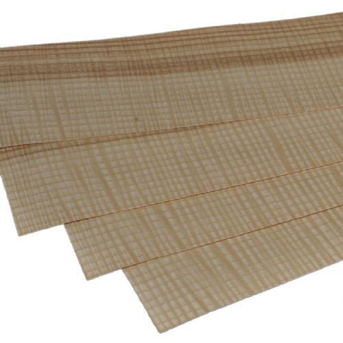 "Figured Olive Ash<br /> Set of 4 leafs<br />22"" x 4.5"" ( 56 x 11 cm )"